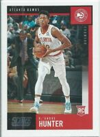 DE'ANDRE HUNTER 2019-20 PANINI CHRONICLES SCORE ROOKIE RC #601 ATLANTA HAWKS