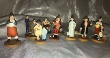 10 Norman Rockwell Family Treasures Figurines Christmas Ornaments