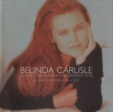 BELINDA CARLISLE - A place on earth - The greatest hits - CD album (28 tracks)