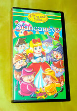 BIANCANEVE CARTOON FUJI PROJECT SABAN VHS STARDUST '90 RARA!!