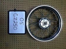 99 - 10 GZ250  GZ 250 INTRUDER FRONT Wheel rim straight true