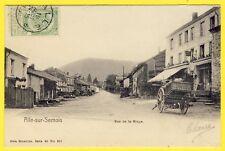 cpa Rare BELGIQUE Village de ALLE YALE VRESSE sur SÉMOIS Rue de la RINGE HÔTEL
