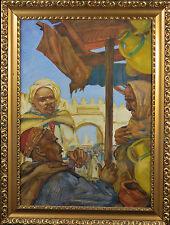 Aleksander Kulkoff  / Alexander Kulkov  - Arabian Market , 1930 , Russian