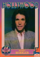 Henry Winkler, Actor, Hollywood Star, Walk of Fame Trading Card --- NOT Postcard