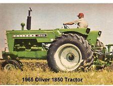 1965 Oliver 1850 Tractor  Refrigerator Magnet