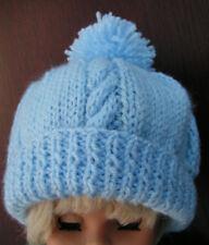 Easy to knit baby hat original pattern in DK