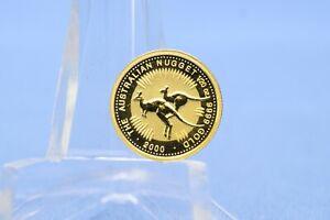 Australien 5 $ 2000  Australian Nugget * 1/20 oz - 1,56 Gramm 9999 Gold * St