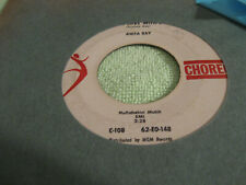 ANITA RAY I'm in Love with Jim / Wouldn't It Be Loverly 45 CHOREO VG