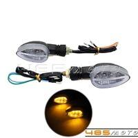 Universal Motorcycle LED Turn Signal Lights Indicator Lamp For Honda Suzuki KTM