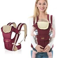 New born Infant Baby Carrier Breathable Ergonomic Adjustable Wrap Sling Backpack