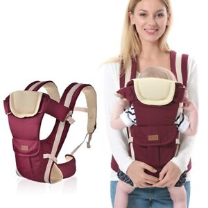 New born Infant Baby Carrier Breathable Ergonomic Adjustable Wrap Sling Backpack