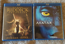 Avatar & Riddick Collection Blu-ray, Pitch Black , Dark Fury, & Chronicles used