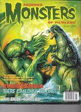 Famous Monsters #281 Variant Cover Cthulhu vs Godzilla Bride Frankenstein 2015