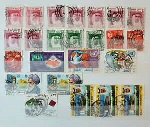 Qatar 1961 Onwards Local Motives and Other Stamps