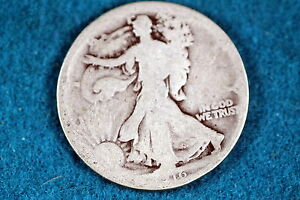 ESTATE FIND 1916 Walking Liberty Half Dollar!!#F2875