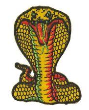 Flicken Applikation bestickt AC Cobra Logo Abzeichen Gelten Hotfix Inschrift