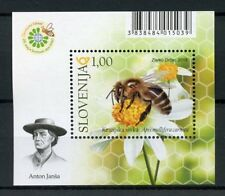 Slovenia 2018 MNH World Bee Day 1v M/S Bees Insects Stamps
