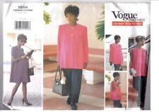 Vogue 1559 EASY sewing pattern JACKET TOP SKIRT DRESS TROUSER PANTS XS 6 8 10