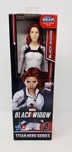 Marvel Avengers Black Widow Titan Hero Series Action Figure with Blast Gear NIB