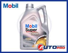 OLIO MOTORE MOBIL 5W40 SUPER 3000 X1 LITRI 5 A3/B3 A3/B4 VW 502 00 / 505 00