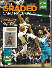 2020 BECKETT GRADED CARD PRICE GUIDE # 17 GIANNIS ANTETOKOUNMPO ON COVER