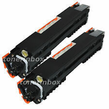 2pk  Black Replacement For HP CE310A 126A LaserJet CP1025nw M275MFP M175a/nw