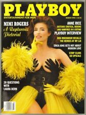 Playboy March 1993 / Mimi Rogers / Erica Jong / Anne Rice & Laura Dern Interview