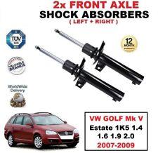 2x ant. AMMORTIZZATORI per VW GOLF MK V Familiare 1K5 1.4 1.6 1.9 2.0 2007-2009