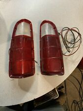 72-80 Dodge Ram Truck Power Wagon Ramcharger LH & RH Rear Tail Lights Pair OEM