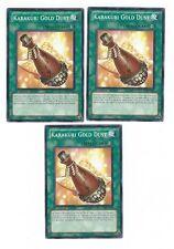X3 YUGIOH KARAKURI GOLD DUST STOR-EN053  COMMON