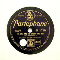 "BRAVOUR DANCE BAND ""The Doll & The Goblin"" (E+) PARLOPHONE R-1728 [78 RPM]"