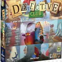 DETECTIVE CLUB Social Deduction Party Game Surreal Artwork Family Fun