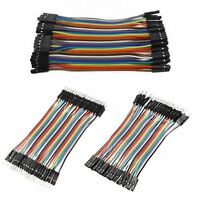 40 Pcs Dupont Jumper Wire M-M / M-F / F-F Cable Pi Pic Breadboard For Arduino FO