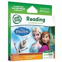 LeapFrog Learning Library Frozen Reading Learning Game 3+ Years Brand New