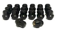 2015-2019 14x1.5 Black OEM Factory Style Lug Nuts for Ford Mustang Stock Wheels