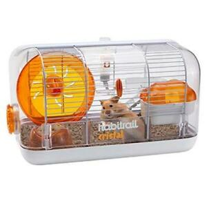 Habitrail Cristal Hamster Cage Kit, Small Animal Cage with Hamster Wheel, Water