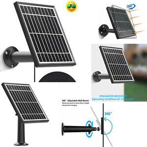 3.5W Solar Panel for Ring Spotlight Cam Battery Security Camera Output Aluminum