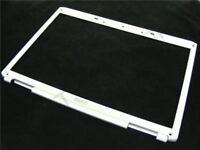 """Dell Inspiron 1721 17 """" Schermo LCD Argento Rosso Webcam Lunetta Cornice Orlo"""