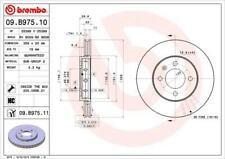 1X BRAKE DISC BREMBO 09.B975.11