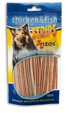 Antos Chicken & Fish Strips~ 2 x 100g packs ~ Delicious Treats