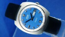 NOS Vintage Zeno Compressor Automatic Watch 1970s 25 Jewel Cal Bucherer ETA 2789
