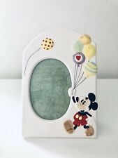 Vintage Disney Mickey Mouse Ceramic Picture Frame Made in Japan Mint Condition