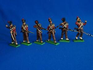 MI-945- Nassau Soldiers - 6 Figures - Napoleonic - Mulberry - 54 mm Metal