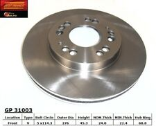 Disc Brake Rotor-Base Front Best Brake GP31003