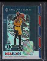 2019-20 HOOPS PREMIUM STOCK FREQUENT FLYERS SILVER PRIZM ANTHONY DAVIS LAKERS