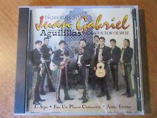 Homenaje a Juan Gabriel Mariachi Aguilillas Canta Victor Quiroz CD