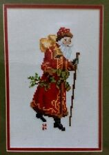 Boyd Designs Counted Cross Stitch Pattern ANTIQUE SANTA  BELL SANTA Vintage