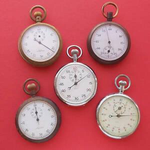 QTC Stopwatches timer parts Tennis Queensland vintage rare Mens Swiss