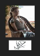 GAME OF THRONES - MARGAERY TYRELL (Natalie Dormer) #2 A5 Signed Mounted Print