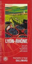 ENCYCLOPEDIE DU VOYAGE GALLIMARD / LYON -RHÔNE - TOURISME - PLANS - CARTES - 30%